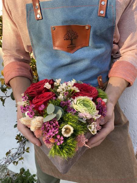 Immagine di Cuore di fiori misti