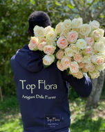 Immagine di 50 Rose Inglesi Tono Pastello